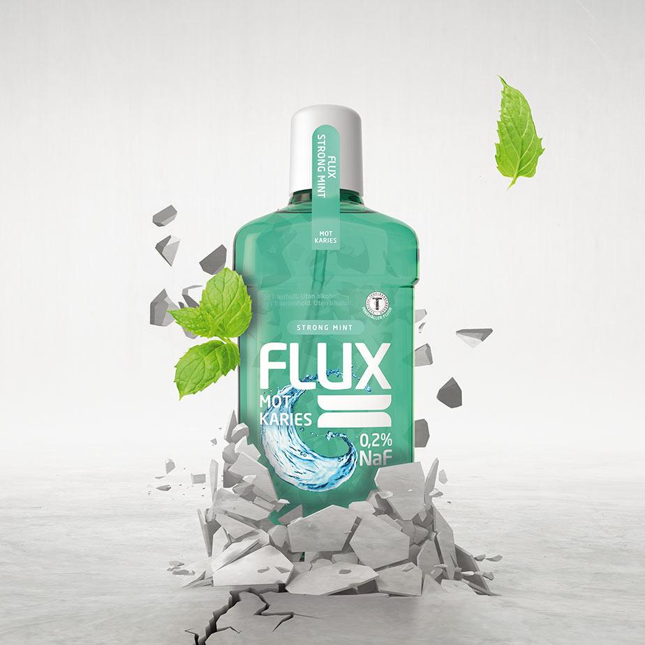 Konceptbild för Flux Fluor Strong Mint