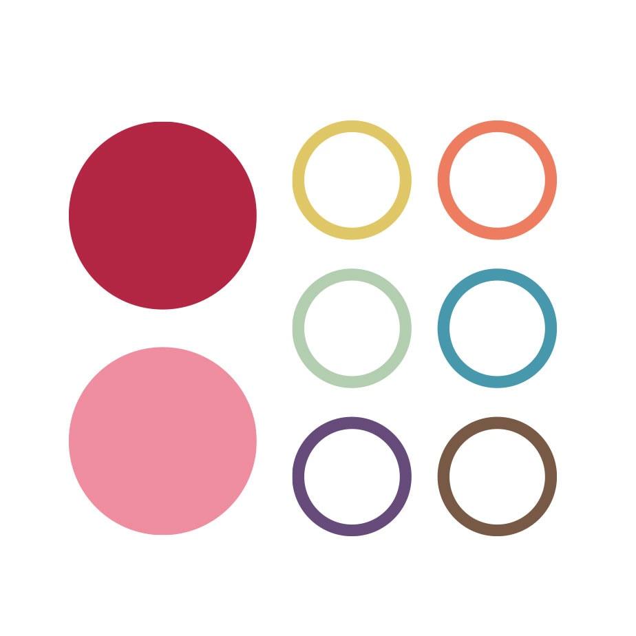 Exempel på Brightecs färgpalett