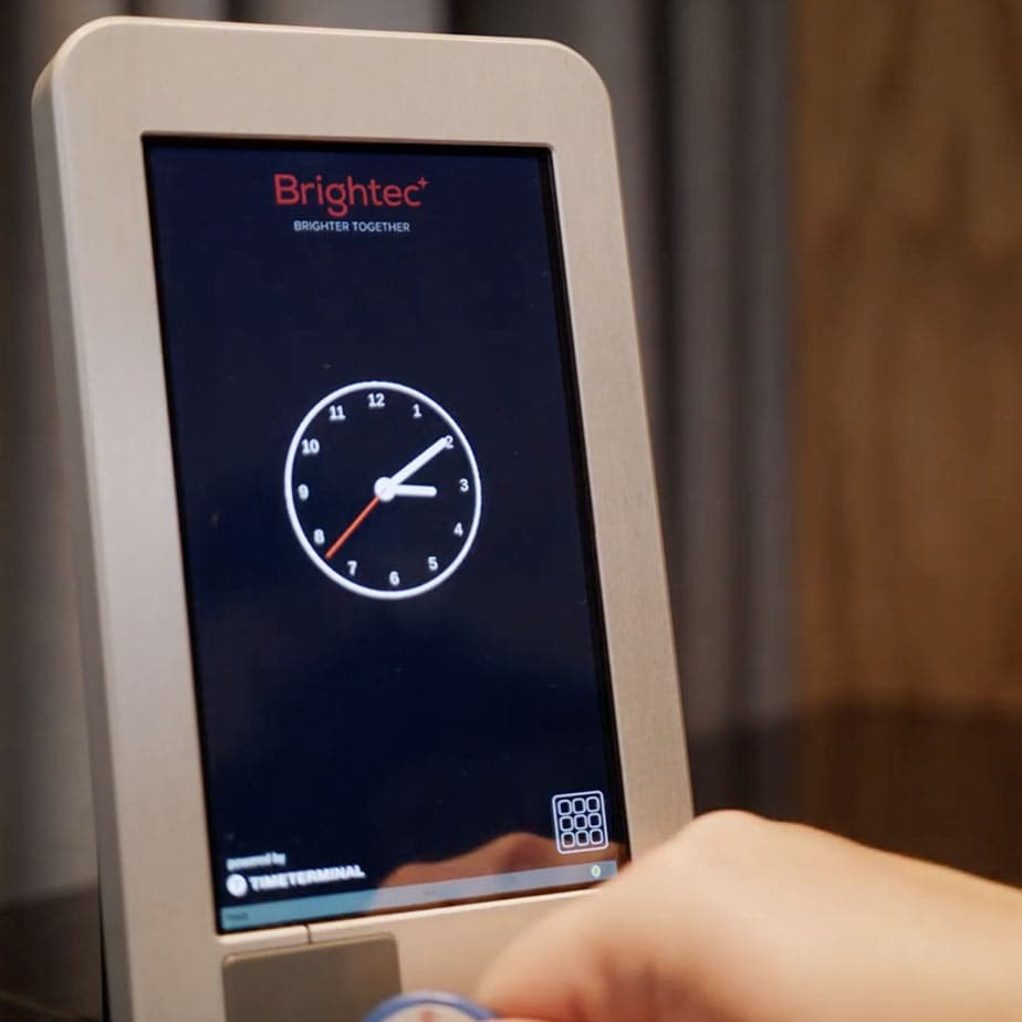 Touch display, Brightec