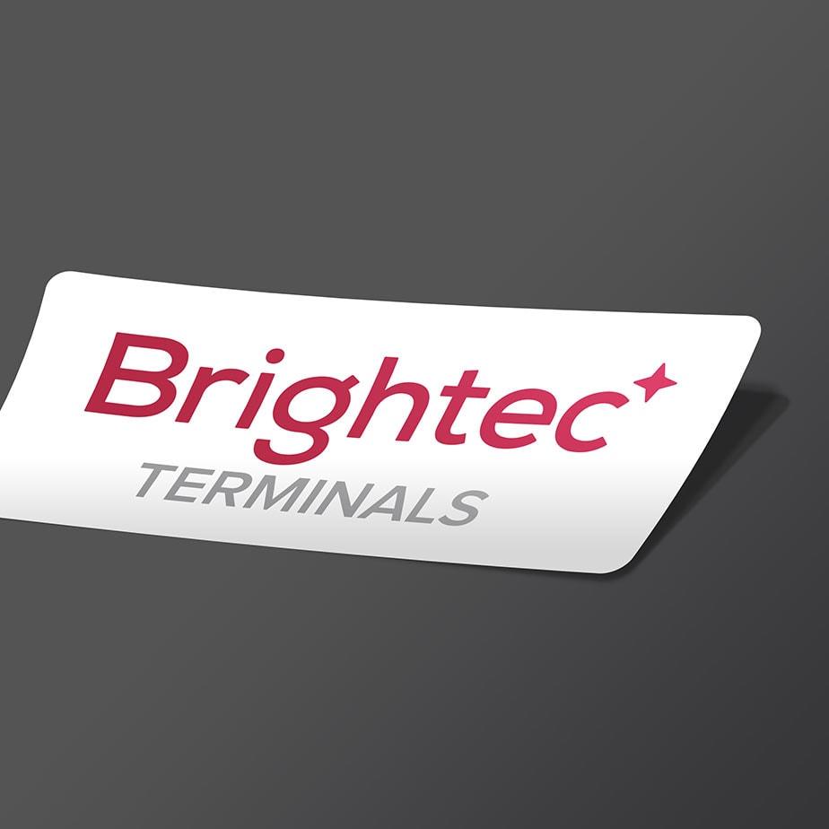 Etikett för Brightec