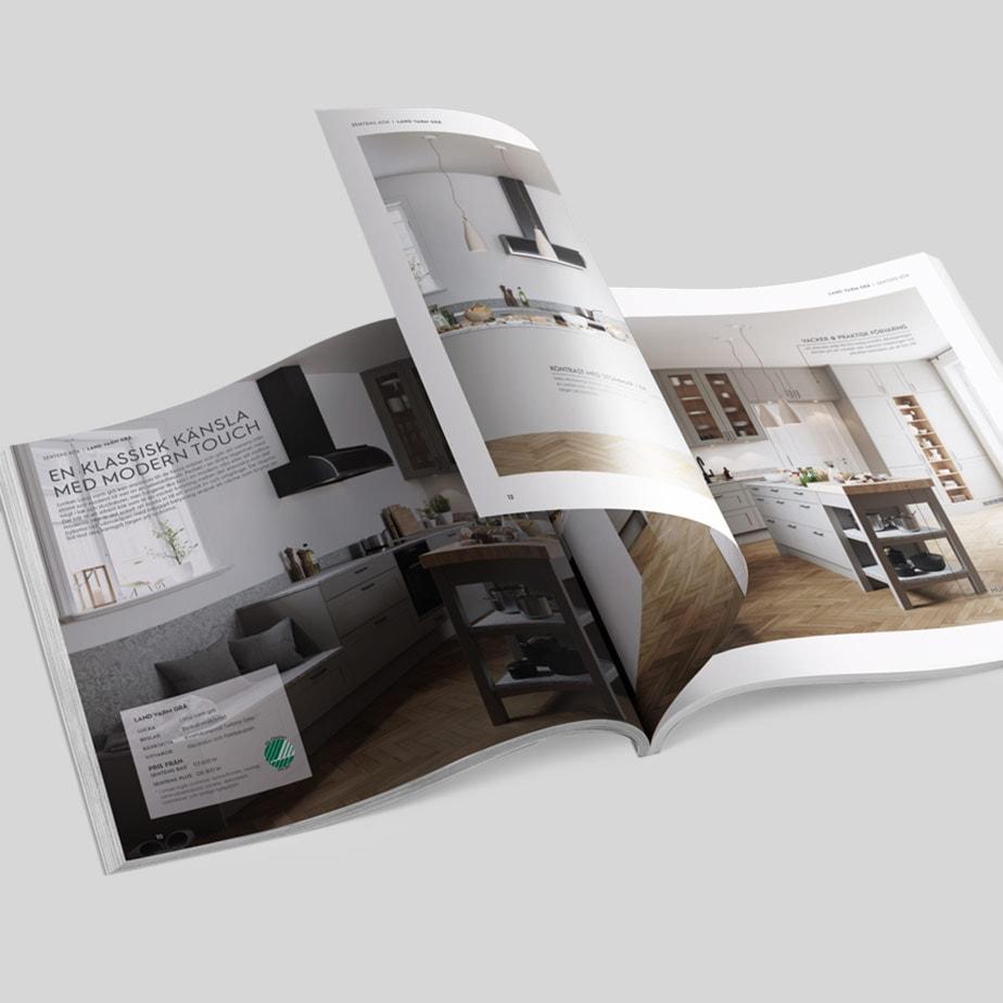 Kökskatalog för Electrolux Home