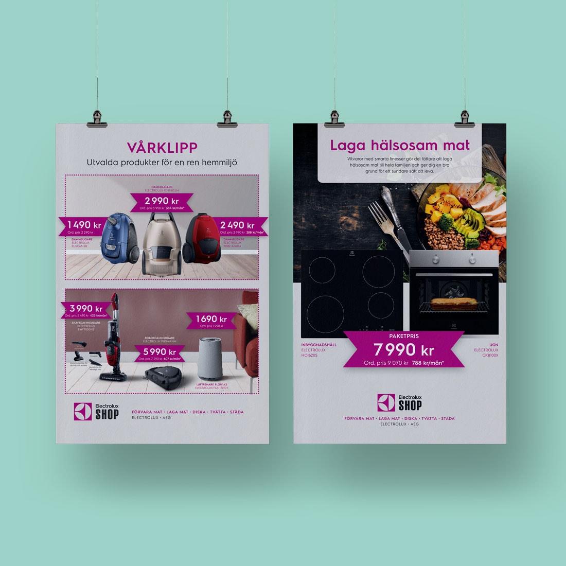 Poster för Electrolux Shop