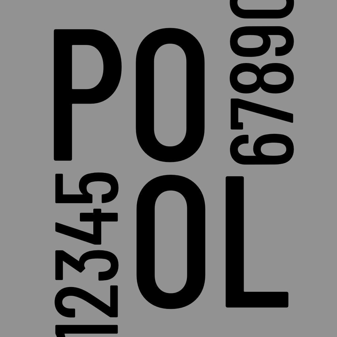 PoolStore-font